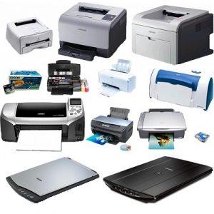 Пристрої друку та сканування