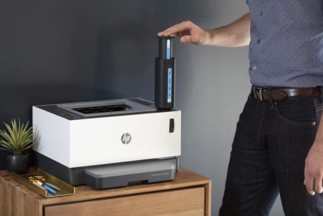 Майбутнє вже поряд: HP представив перший лазерний принтер без традиційних картриджів